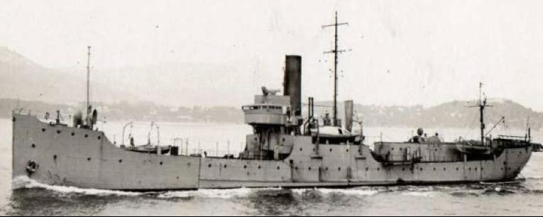 Эскортный корабль «SG-25» (Les Epargues)