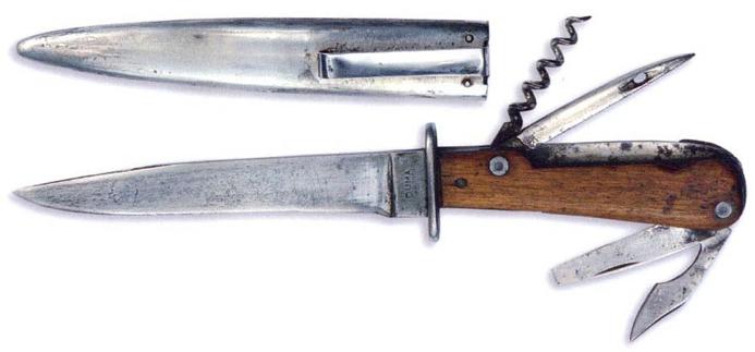 Милитаризированная версия охотничьего ножа