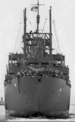 Десантный транспорт «Alchiba» (AKA-6)