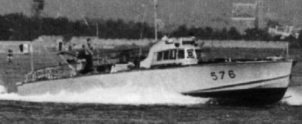 Противолодочный катер «MAS-576»