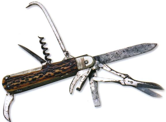 Складной армейский нож