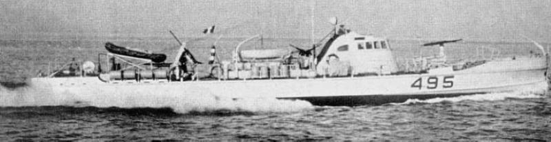 Противолодочный катер «VAS-233»