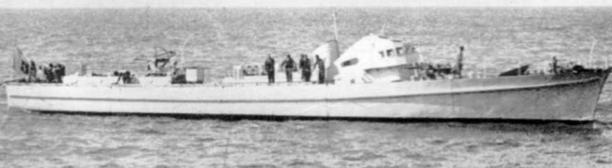 Противолодочный катер «VAS-301»