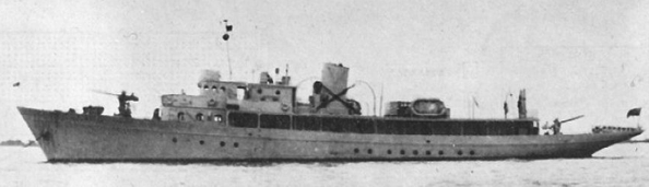 Патрульный корабль «Manabí» (PYc8 Opal)