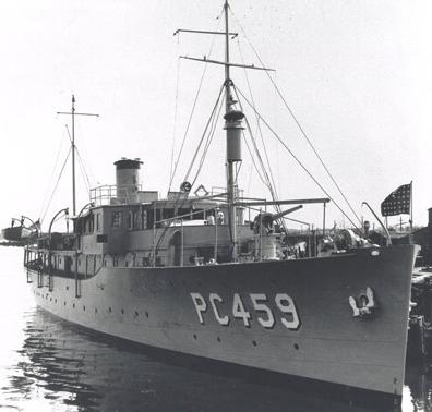 Патрульный корабль  «Nueve de Octobre» (PY-18 Turquoise)
