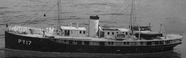 Патрульный корабль «Jade» (PY-17)