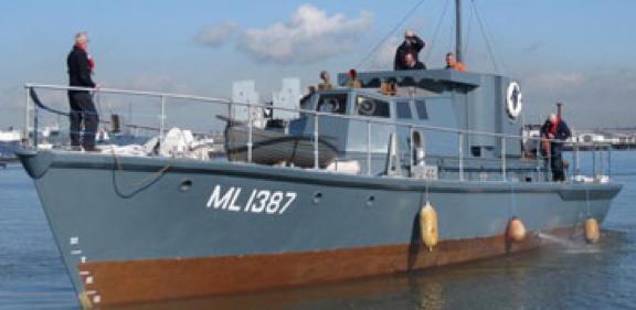 Сторожевой катер «HDML-1387»
