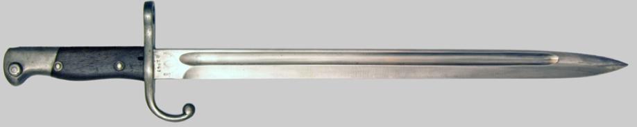 Штык  обр. 1909 г. к винтовке системы Mauser