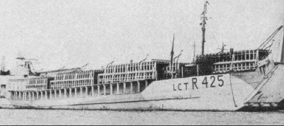Танкодесантный корабль «LCT(R)-425»