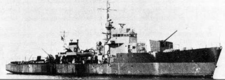 Эскортный корабль «СD-17»