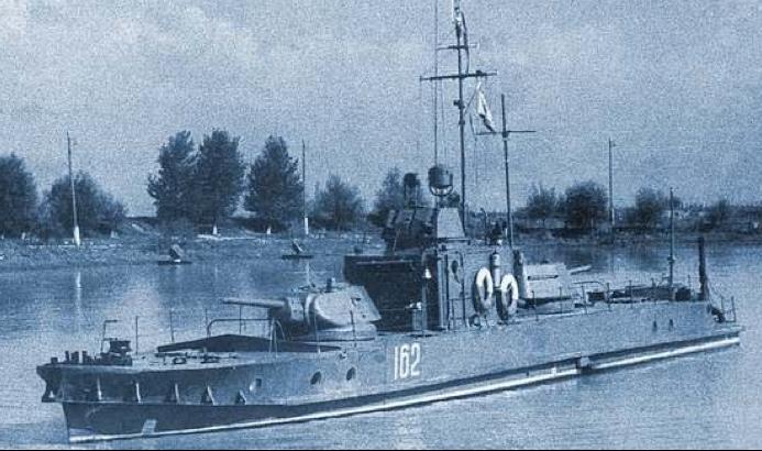 Речной бронекатер типа «Проект 1124»