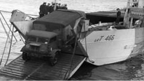 Танкодесантный корабль «LCT-466»