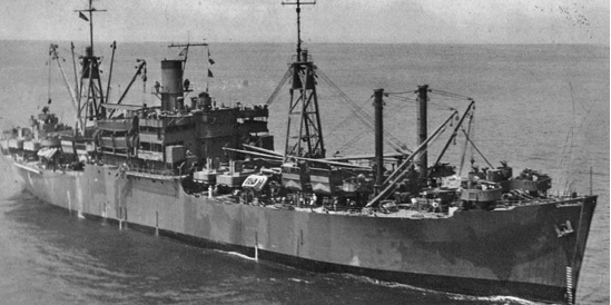 Десантный транспорт «Caswell» (AKA-72)