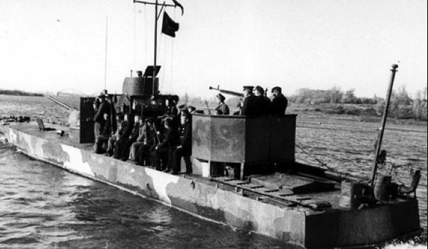 Речной бронекатер типа «Проект 1125»