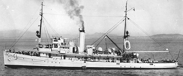 Патрульный корабль «103» (AM-9 Finch)