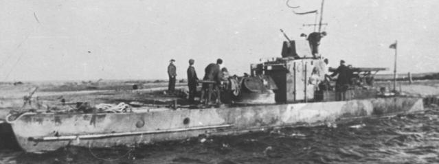 Речной бронекатер проекта «С-40»