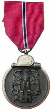 Аверс медали «За зимнюю кампанию на Востоке 1941/42».