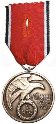 Различные способы ношения медали.