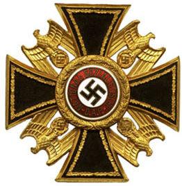 Аверс Немецкого Ордена 3-го класса