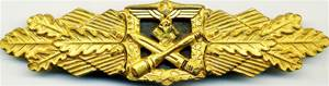 Знак «За ближний бой» в золоте.