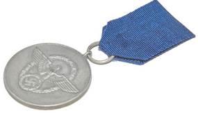 Аверс медали за 8 лет выслуги.