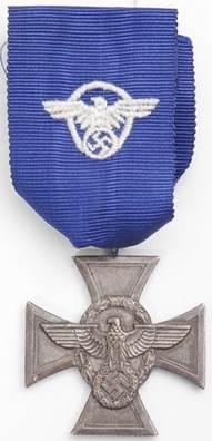 Аверс медали за 18 лет выслуги.