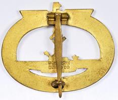 Аверс и реверс знака подводника.
