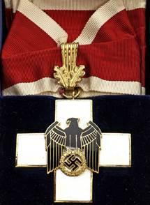 Крест 1-й степени с шейной лентой.