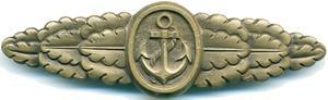 Аверс знака «Морской боевой».