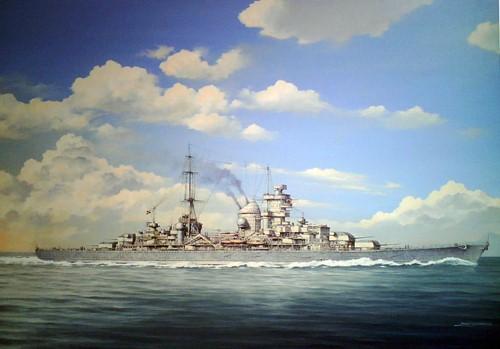 Chernev Marii. Крейсер «Prinz Eugen».