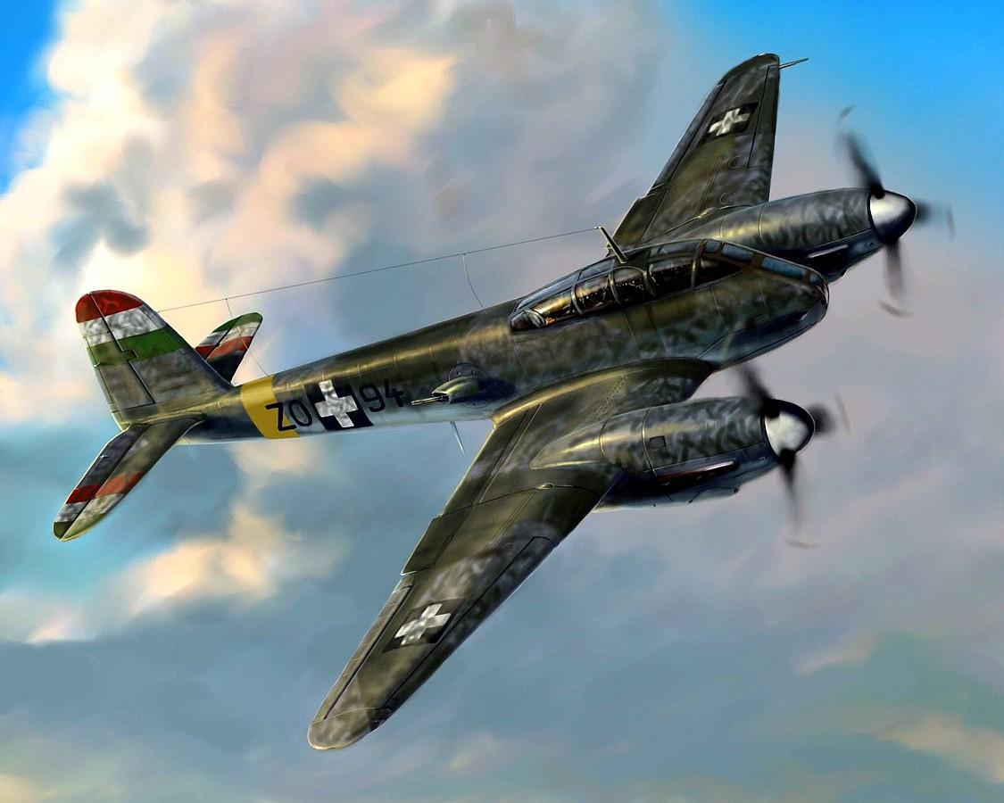 Férenc Vincze. Истребитель Me-410