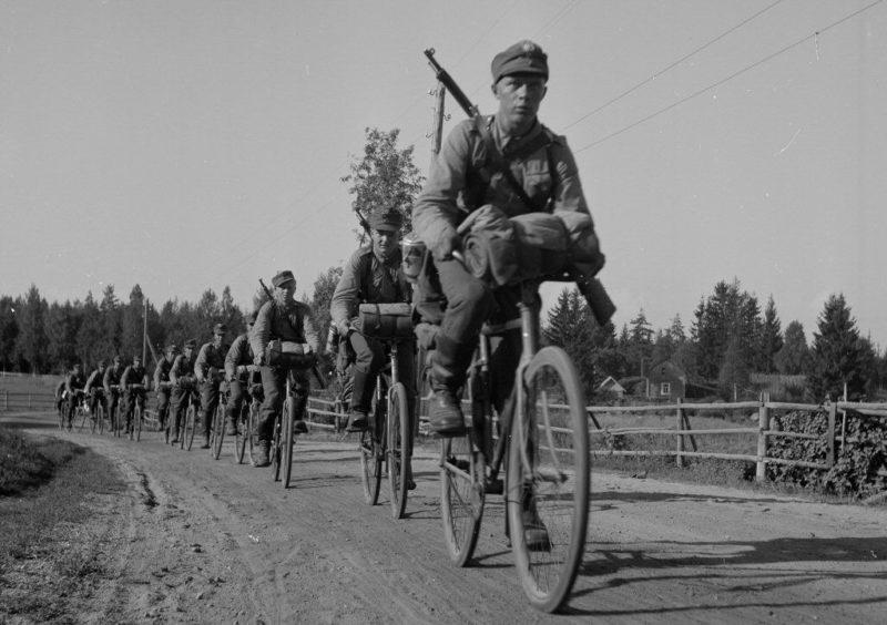 Финские егеря. 1942 г.