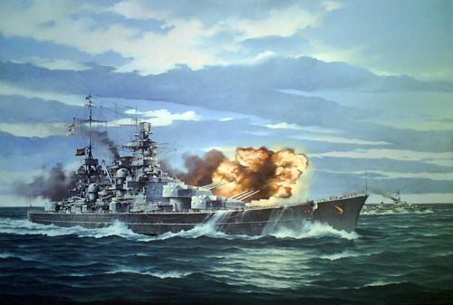 Chernev Marii. Крейсер Scharnhors