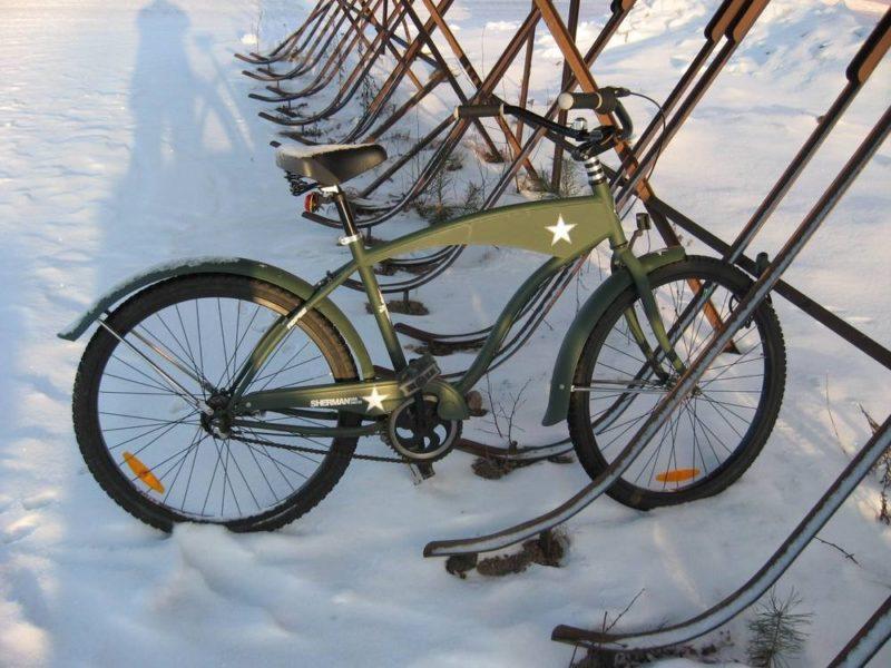 Боевой велосипед сегодняшней финской армии