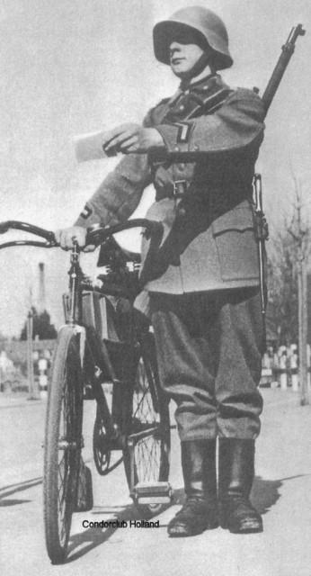 Швейцарский солдат времен Второй мировой войны
