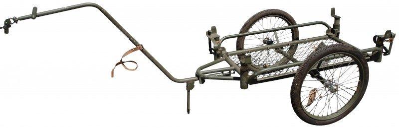 Складной велосипедный прицеп «Husqvarna S/78». 1945 г.