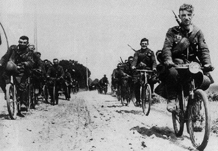 Долгий марш. Бельгия. 1940 г.