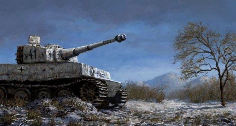 Kresz Bence. Танк «Тигр».
