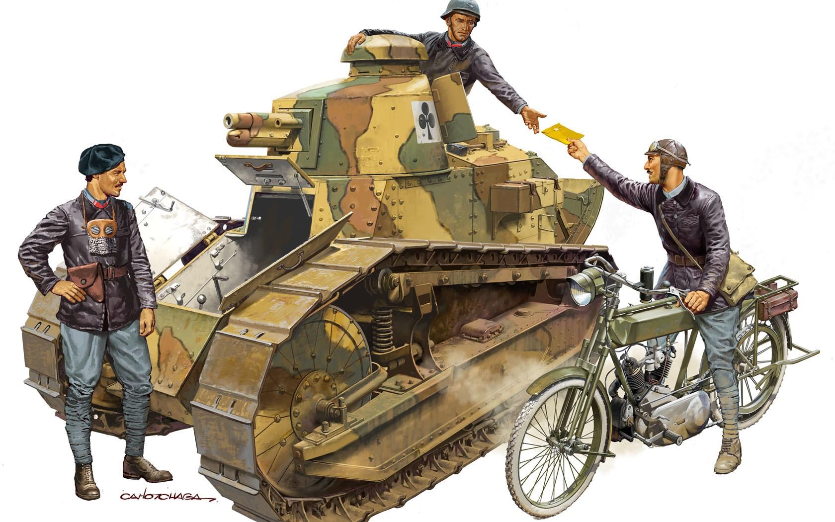 Chagas Carlos. Танк  FT-17