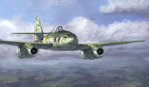 Kresz Bence. Истребитель Ме-262