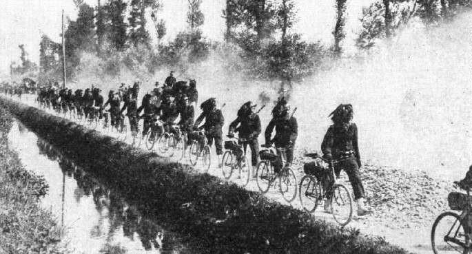 Берсальеры на марше