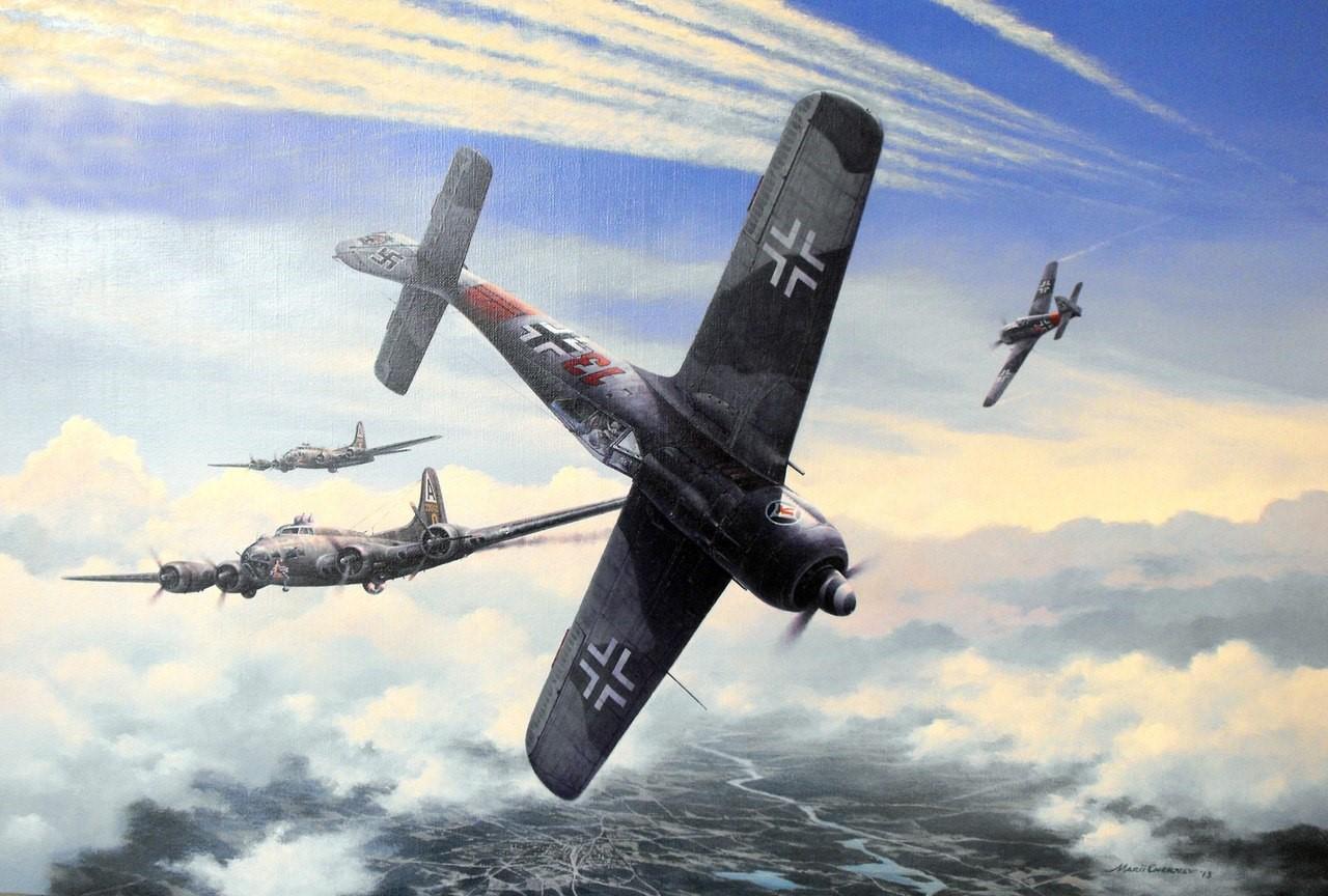 Chernev Marii. Истребитель Fw 190 A-7