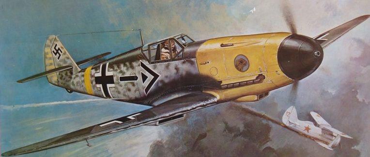 Chagas Carlos. Истребитель Bf-109f