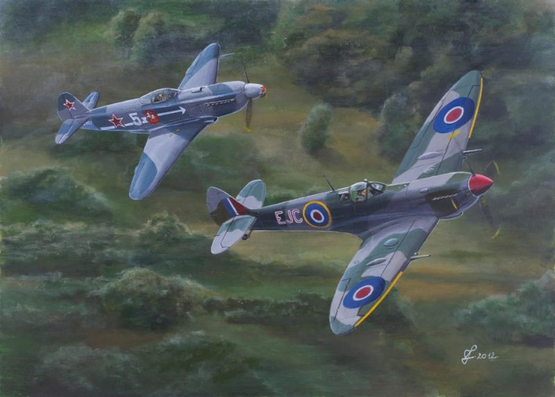 Férenc Vincze. Истребители «Spitfire».