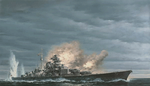 Chernev Marii. Линкор «Bismarck».