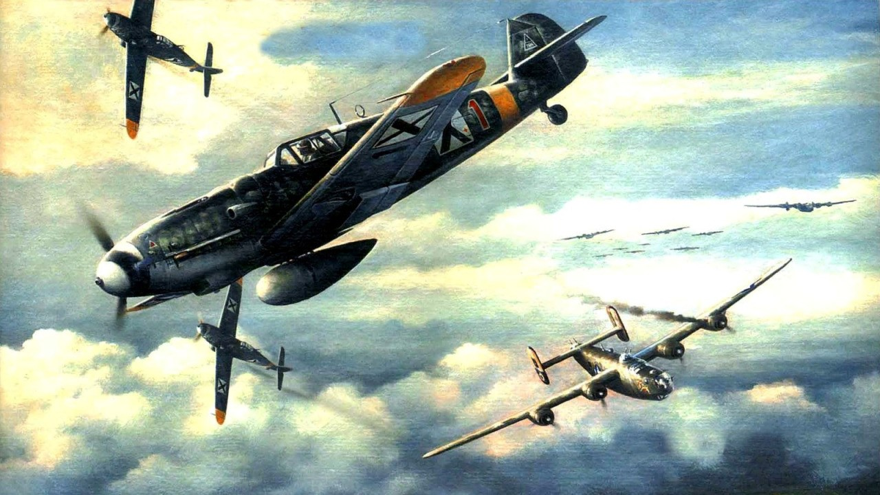 Chernev Marii. Истребитель Bf-109G
