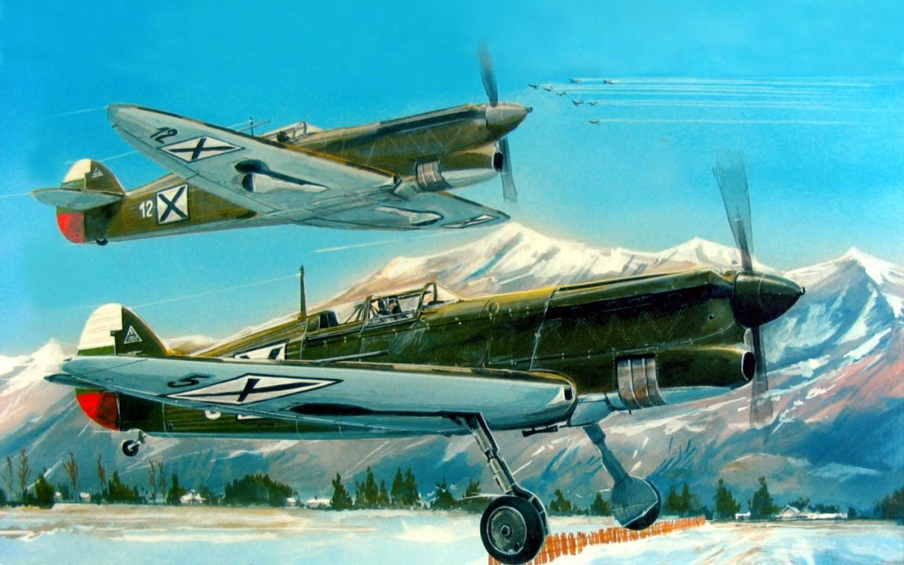 Chernev Marii. Истребители Avia-B-135