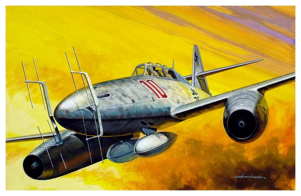 Chagas Carlos. Истребитель Ме-262