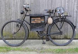 Военные велосипеды с различным «обвесом