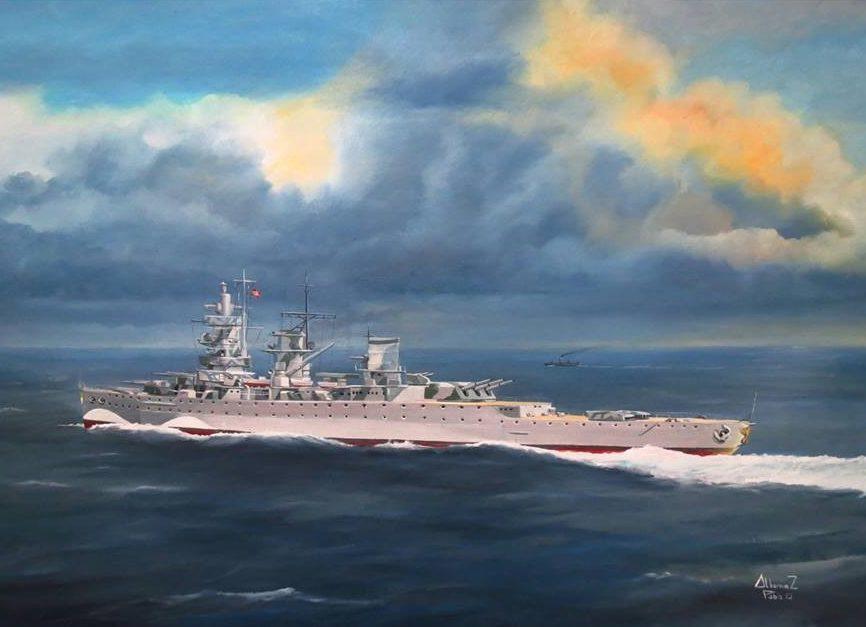 Albornoz Pablo. Крейсер «Admiral Graf Spee».